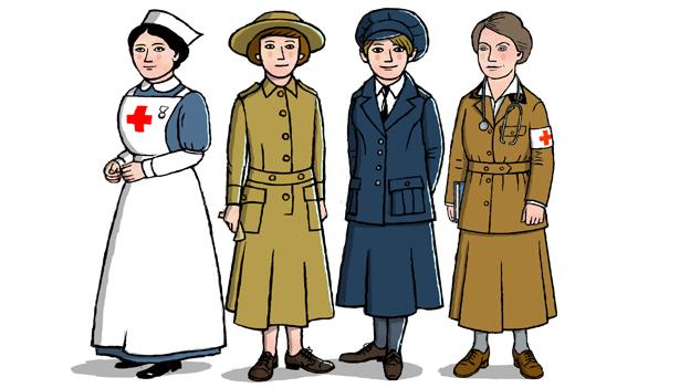 Women in the World Wars