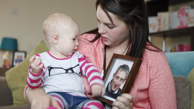 Megan Willdig and baby Ava