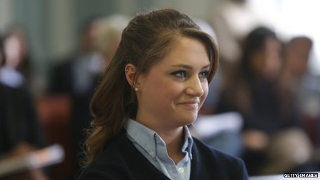 Rachel Canning at a preliminary court appearance on 4 March, 2014.