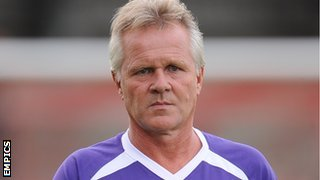 New Kidderminster Harriers manager Gary Whild