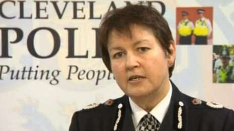 Cleveland Police chief constable Jacqui Cheer