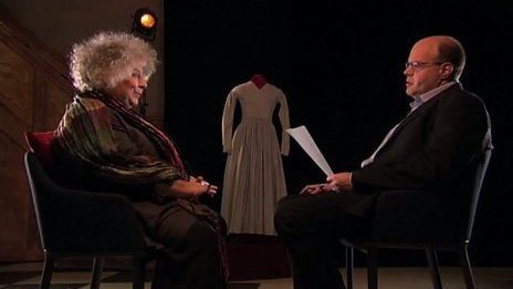 Miram Margolyes with Mark Lawson