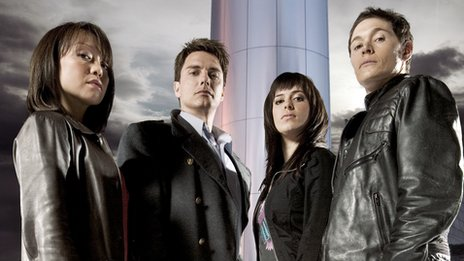 Torchwood stars Naoki Mori, John Barrowman, Eve Myles and Burn Gorman