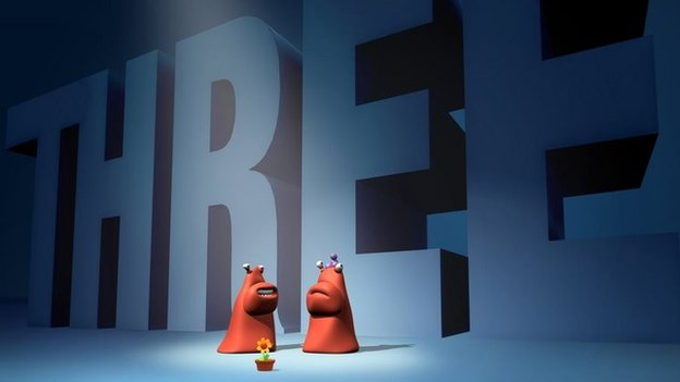 BBC Three ident, 2003