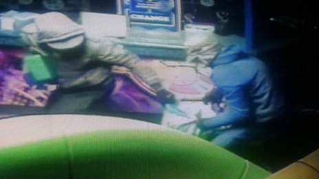 Police CCTV image