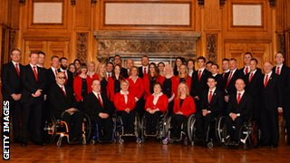 GB Winter Paralympic team