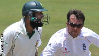 Hashim Amla and Graeme Swann