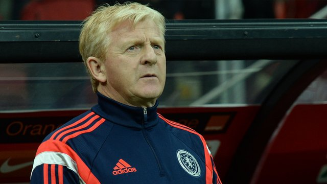 Interview - Scotland manager Gordon Strachan