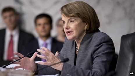 Senate Intelligence Committee chairwoman Dianne Feinstein appeared in Washington DC on 24 July 2013