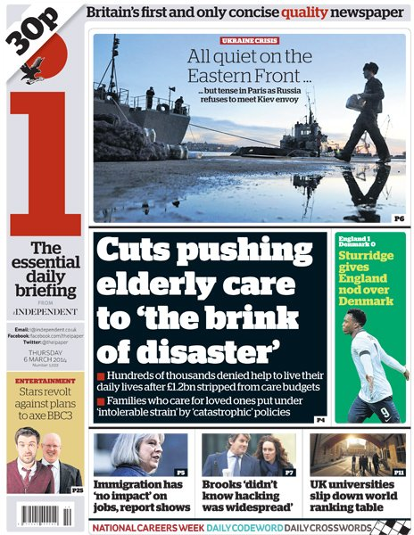 The i front page, 6/3/14