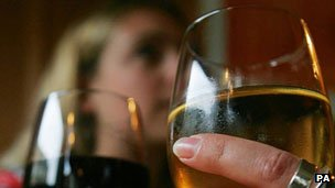 Generic image of women drinking wine