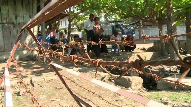 Aung Mingala in Sittwe in Myanmar