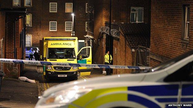 Police at scene of suspected stabbing in Stokes Croft