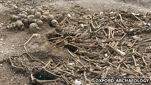Viking mass grave, Weymouth
