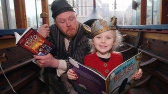 World Book Day launch in Dublin, Ireland