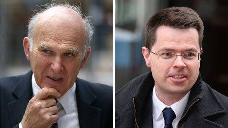 Vince Cable and James Brokenshire