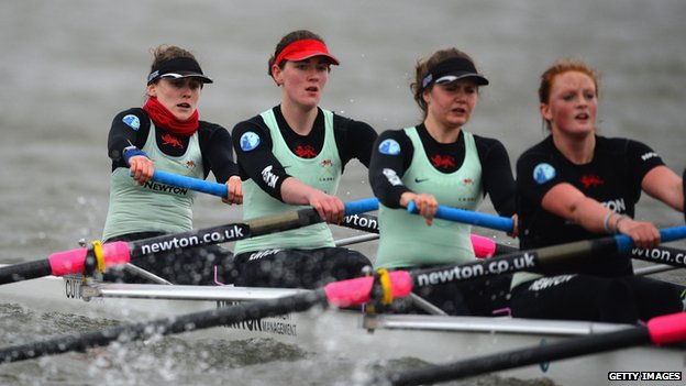 Newton Women's Boat race trials