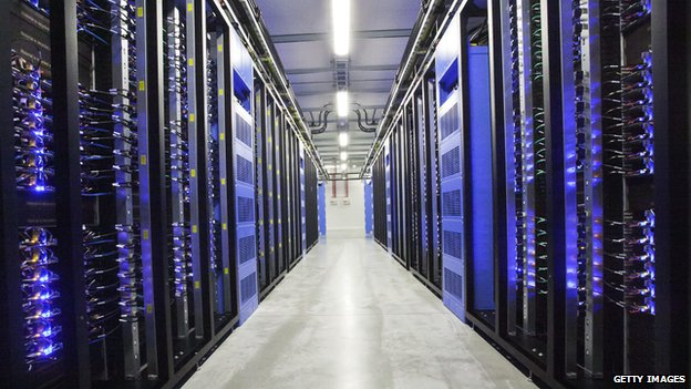 Facebook's data centre in Lulea, Sweden