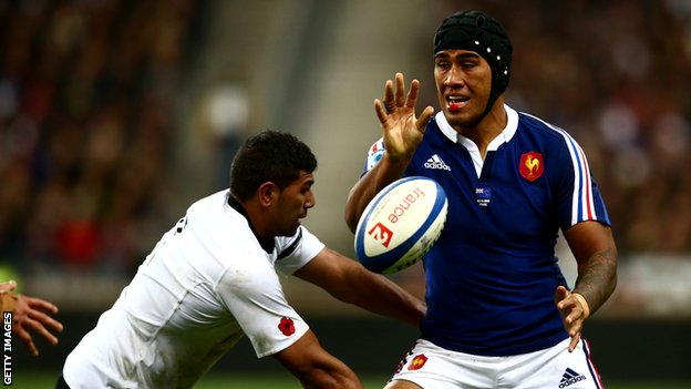 Sebastien Vahaamihina in action for France
