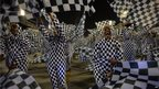Unidos da Tijuca samba school performs during the second night of carnival parade at the Sambadrome in Rio de Janeiro, Brazil on 4 March, 2104