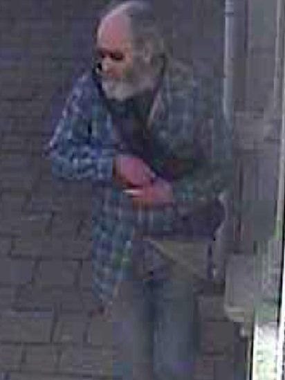CCTV image of Alan Eric Jeal