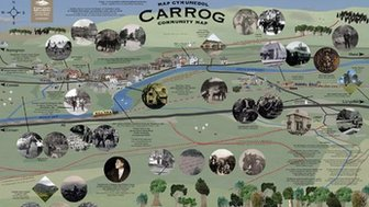 Map Carrog
