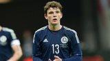 Scotland debutant Andrew Robertson