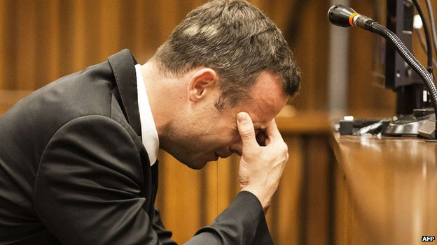 Oscar Pistorius 6 March