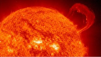 Extreme Ultraviolet Imaging Telescope (EIT) image of the Sun