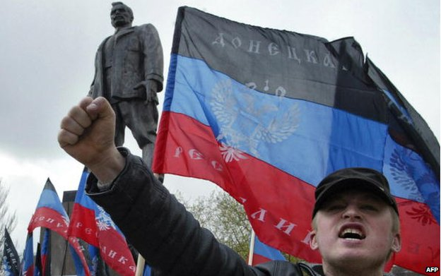 Donetsk Republic flag