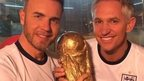 Gary Barlow and Gary Lineker