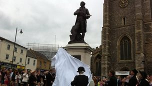 Gainsborough's statue, Sudbury