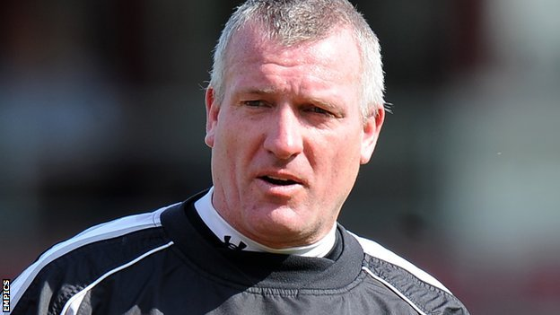 New Kidderminster Harriers coach Tim Flowers