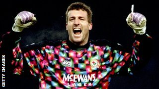 Tim Flowers, in his days as Blackburn Rovers keeper
