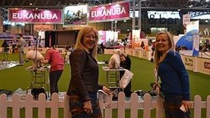 jo good at Crufts
