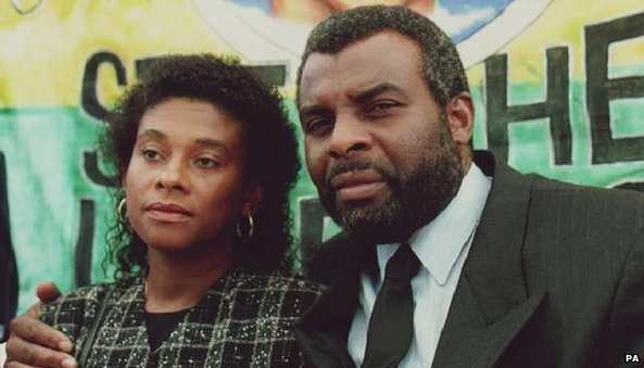 Stephen Lawrence parents