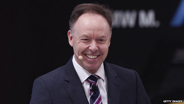 BMW's sales and marketing chief Ian Robertson