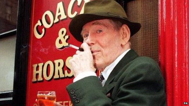 Peter O'Toole at the Coach and Horses