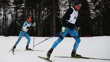 Ukraine Paralympians practice at the Laura Cross-Country Ski Biathlon Center