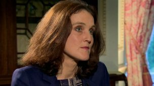 "Ms Villiers said the letters were not ""get out of jail free cards"""