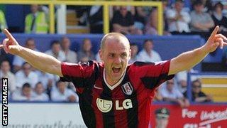 Danny Murphy celebrates