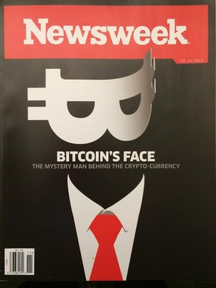 Newsweek cover page