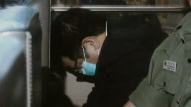 Carson Yeung on way to court