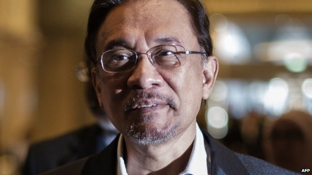 File photo: Anwar Ibrahim