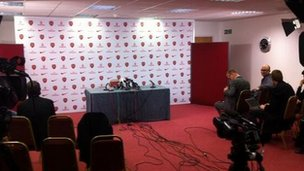 Arsene Wenger press conference