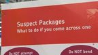 Suspect package warning in sorting office