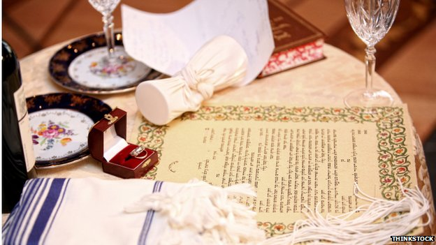 Jewish wedding items