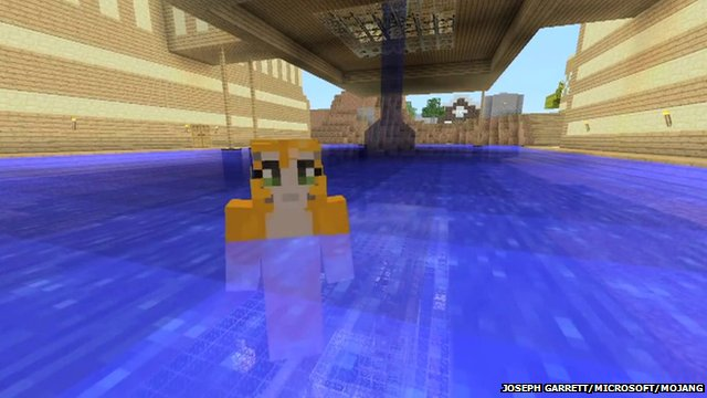 Minecraft gamers youtube hit more popular than bieber bbc news sciox Choice Image