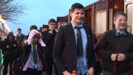 Isle  of Man bus strike