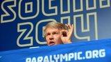 Ukraine Paralympic Committee president Valeriy Sushkevich